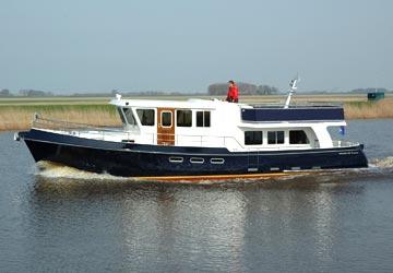Gruno motorjacht trawler